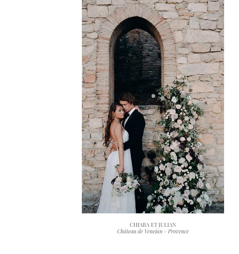 Mariage au château de Vénéjan Provence - Gard